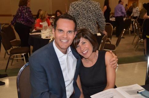 2016 Mel Harmon Recipient Craig Eliot and his wife, Michelle. — at Sangre de Cristo Arts Center.