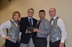 2015 Electronic Media Media Excellence Award went to CSU-Pueblo, Instructional Technology and Web Development (Adam Pocius & Lallo Vigil) — at Sangre de Cristo Arts Center.