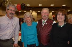 Sam Ebersole, Mary Jean Porter and her husband and Chris McLean