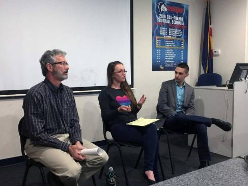 Emily White, promotions manager for The Pueblo Chieftain