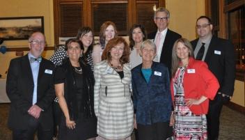 The 2017 Southern Colorado Press Club board