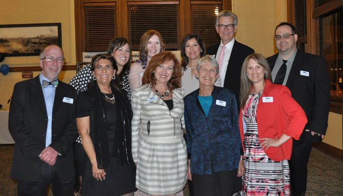 The 2017 Southern Colorado Press Club board