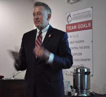 Thanks again to Dr. Timothy Mottet for speaking with Southern Colorado Press Club.