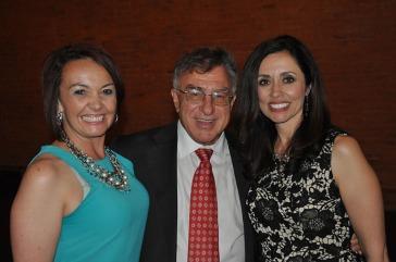 Tracy Samora and Mike Salardino presented the Mel Harmon Award to Andrea Aragon.