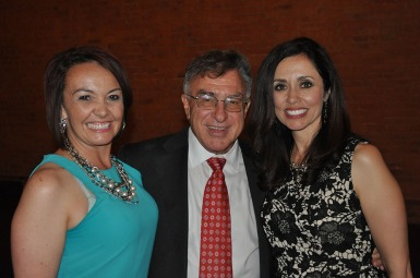 Tracy Samora and Mike Salardino presented the Mel Harmon Award to Andrea Aragon.