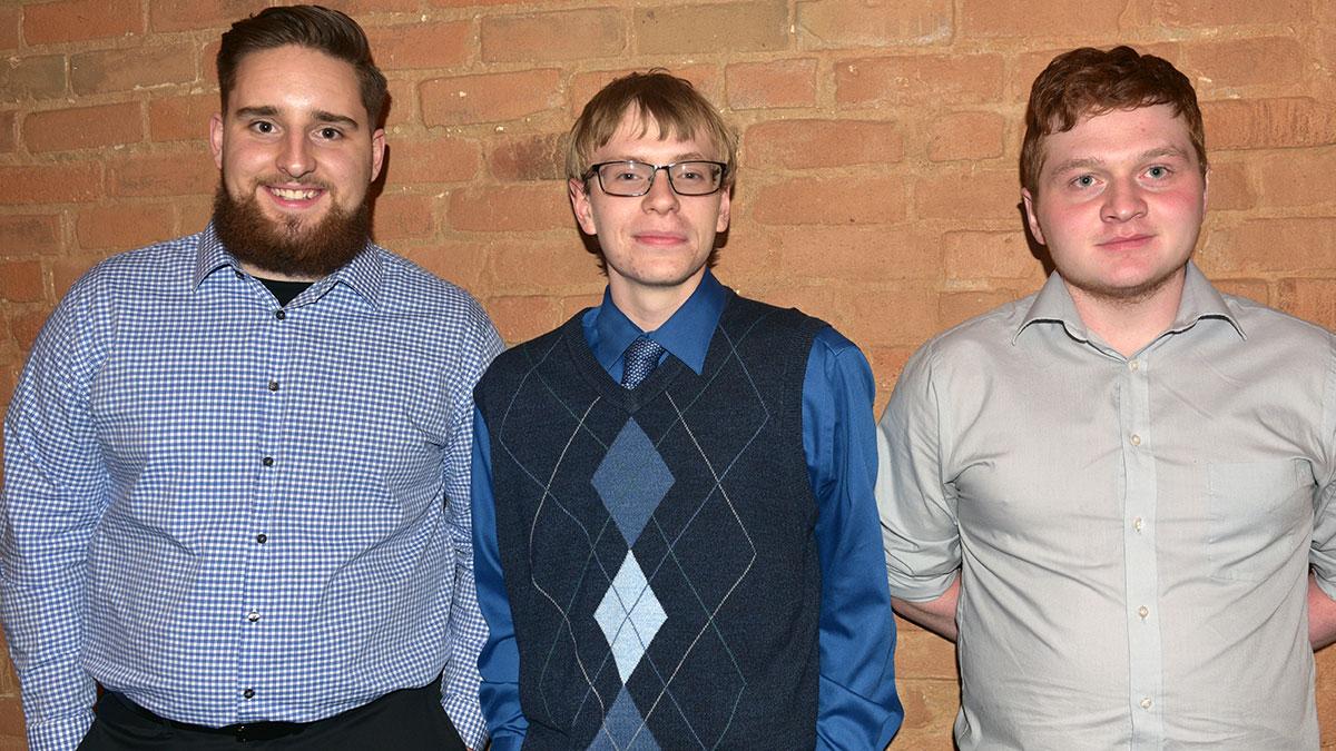 Southern Colorado Press Club scholarship recipients