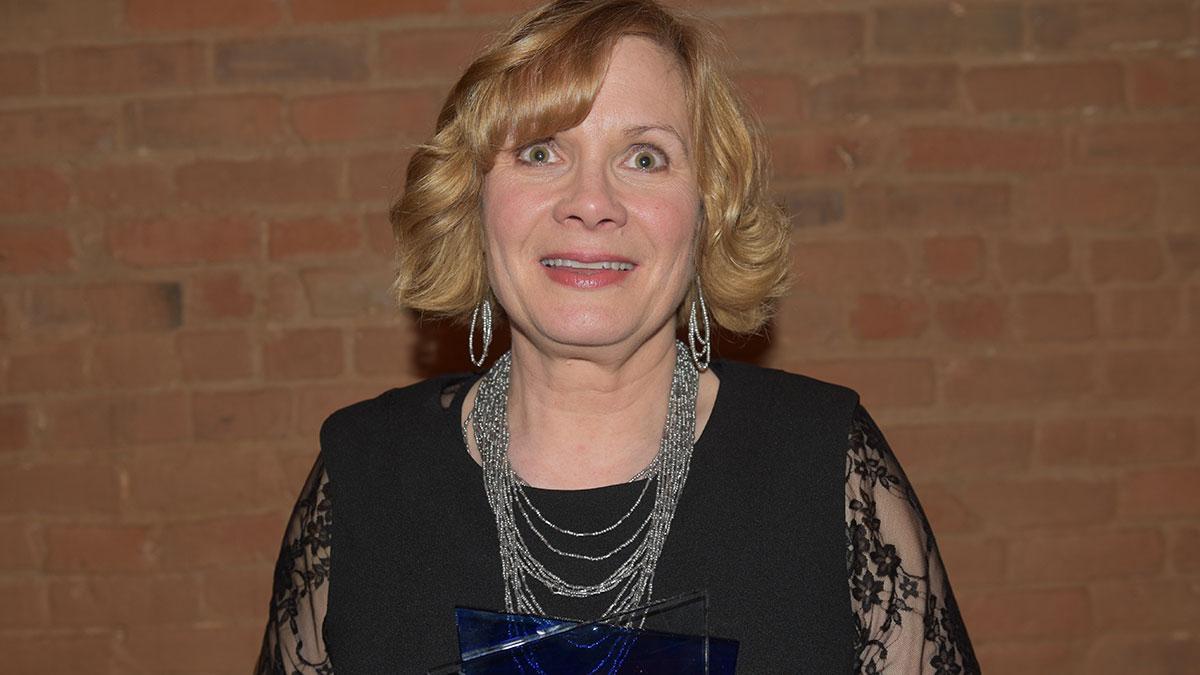 Damon Runyon Award winner Tracy Harmon